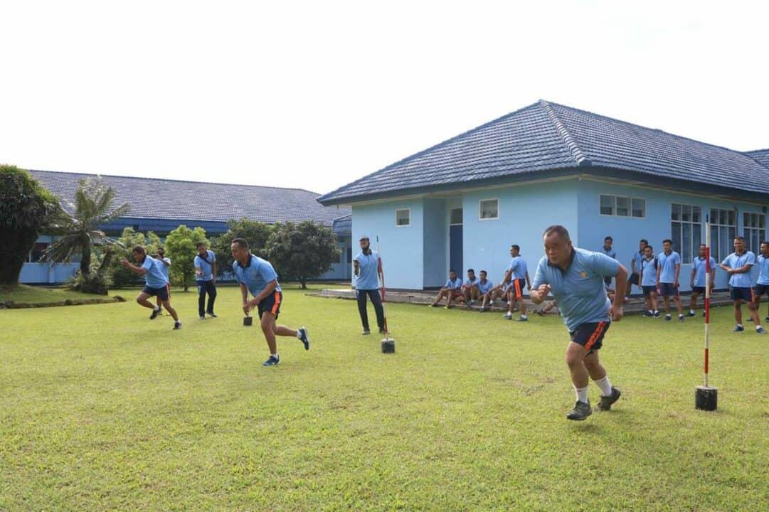 Ukur Kemampuan Prajurit Mako Korpaskhas Gelar Samapta Semester I Tahun 2020