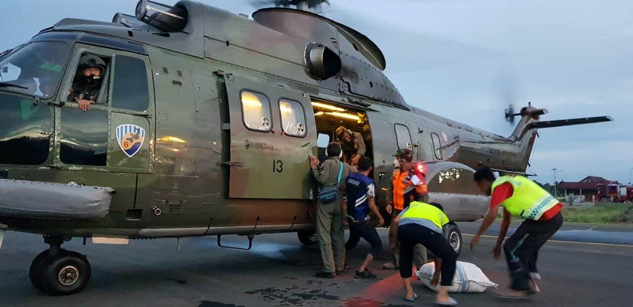 Peran TNI AU, Pada Bencana Banjir Bandang di Luwu Utara