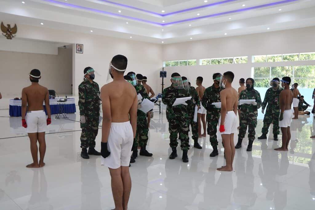 Panthukirda Lanud Abd Saleh Bagi Calon Taruna AAU Tahun 2020