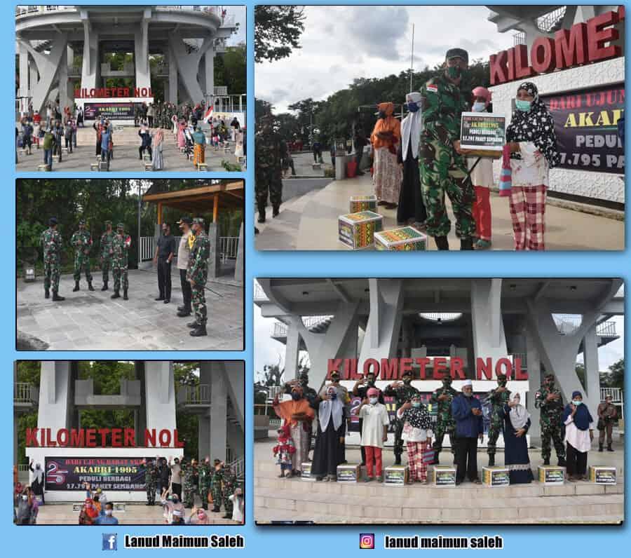 Ujung Perbatasan KM O Indonesia Menjadi Sasaran Reuni Akabri 95.