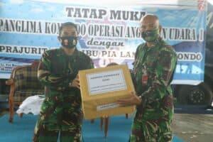Danlanud Soewondo Sambut Kuker Pangkoopsau I Marsda TNI Tribowo Budi Santoso