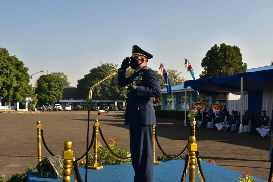 Dankorpaskhas Pimpin Upacara Hari Bakti TNI AU ke-73
