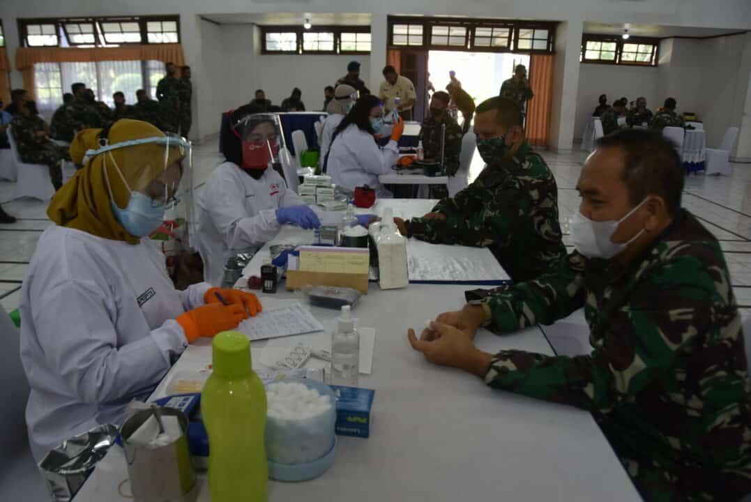 Donor darah bakorda bandung: Harapan baru setetes darah menentukan saat pandemic covid-19.