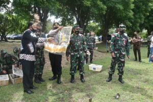 Prajurit Lanud Maimun Saleh Harus Tetap Semangat, Timbulkan Kreasi Cemerlang Meskipun Di Ujung Barat NKRI.