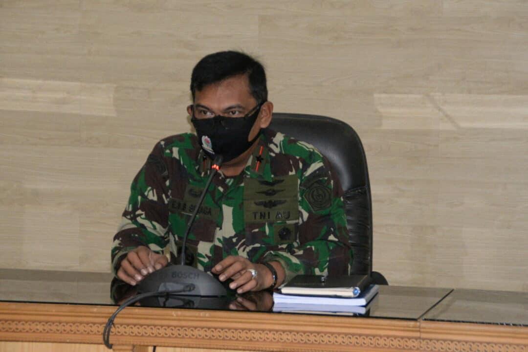 Panglima Kosekhanudnas III Melaksanakan Rapat bersama Perwira