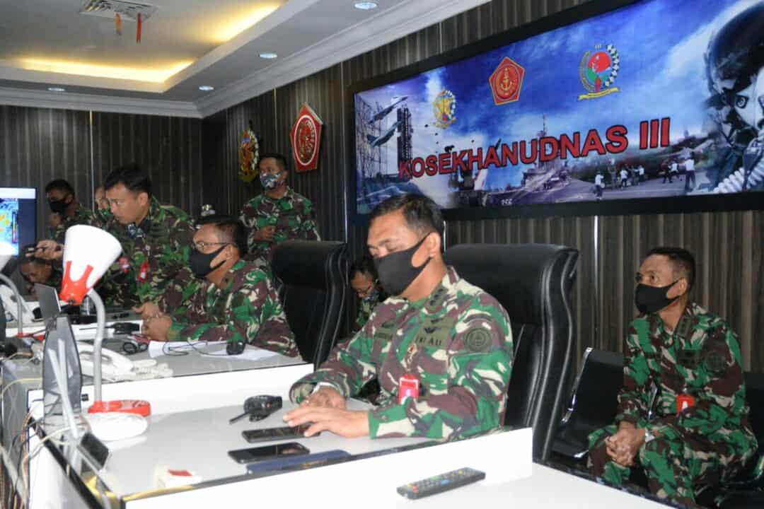 Latihan Simulasi Kosekhanudnas III Beserta Satrad Jajaran
