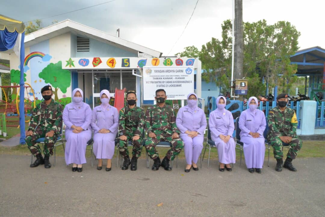 Kunjungan Kerja Panglima Kosekhanudnas III Ke Satuan Radar 231 Lhokseumawe