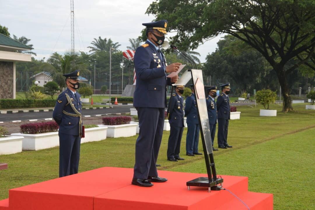 Peringatan Ke-73 Hari Bhakti TNI Angkatan Udara di Makosekhanudnas III