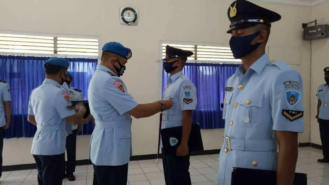 Pembukaan Pendidikan Sejurba Pomau Angkatan ke-33 dan Sejurba Jasmil Angkatan ke-20 di Skadik 405 Lanud Adi Soemarmo