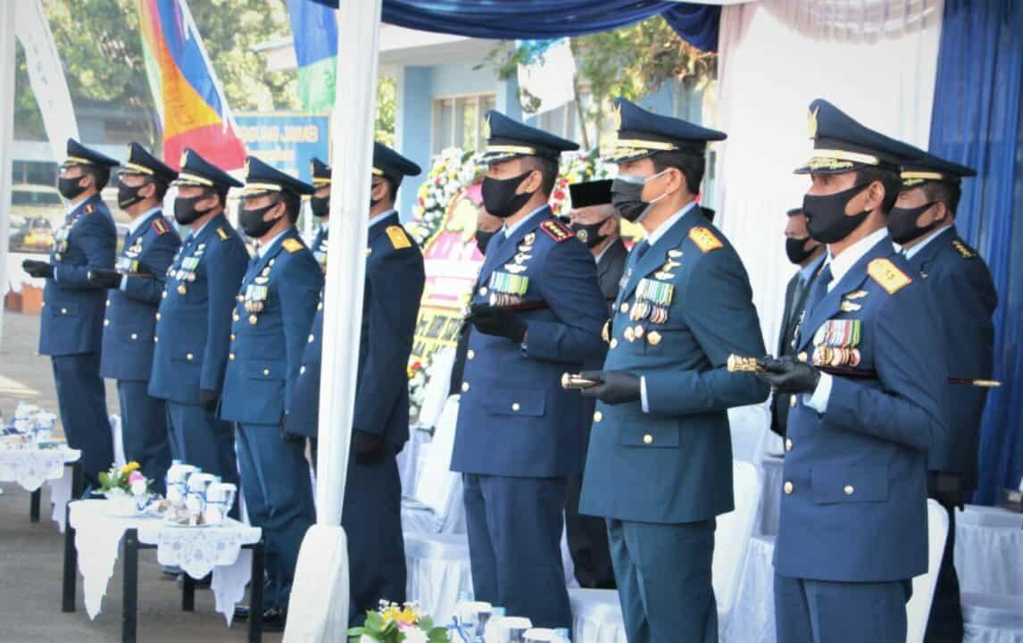 Danseskoau Hadiri Peringatan Hari Bakti ke-73 TNI AU di Lanud Sulaiman