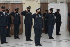 Upacara Hari Bakti TNI AU ke-73 di Lanud Sam Ratulangi