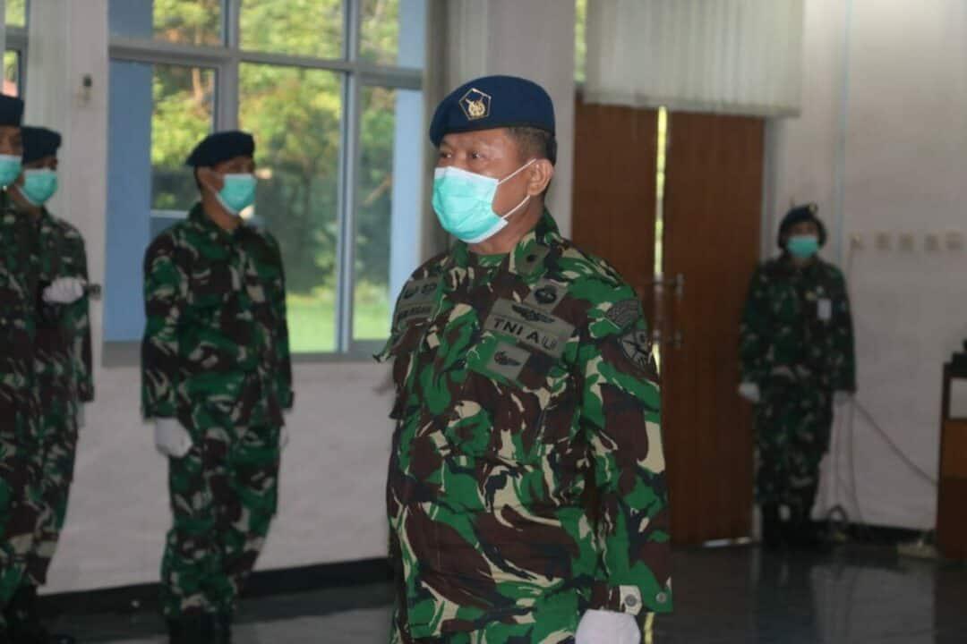 Danlanud Ats Pimpin Upacara Kenaikan Pangkat Perwira TNI AU