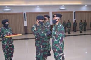 Serah Terima Jabatan Komandan Pusdiklat Hanudnas Dan Ketua IKKT PWA cabang 05 Pusdiklat Hanudnas