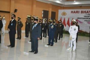 Danlanud Adisutjipto hadiri Upacara Peringatan Hari Bhayangkara ke-74