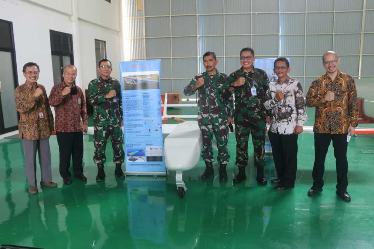 TNI AU dan LAPAN Kerjasama Penggunaan Tanah Lanud Ats Untuk Pembangunan Taxiway