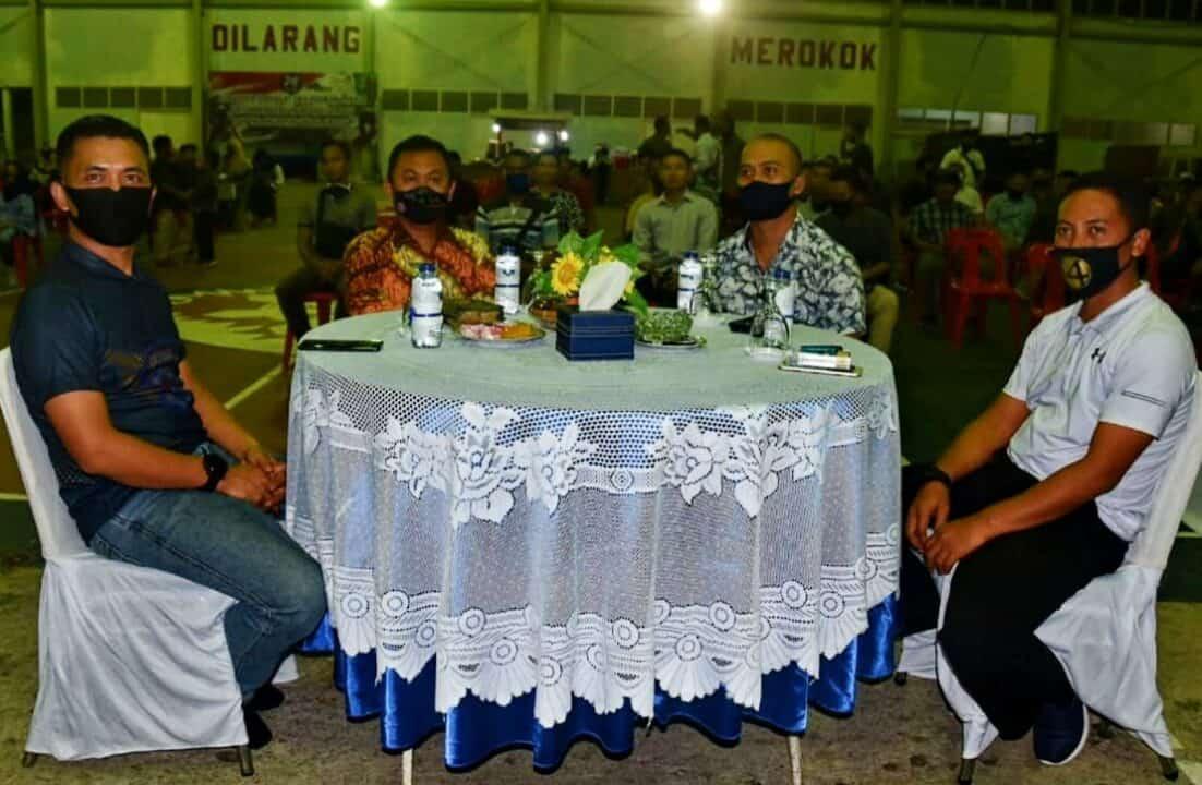 Malam Silaturahmi Menambah Keakrapan Keluarga Besar Lanud Maimun Saleh.