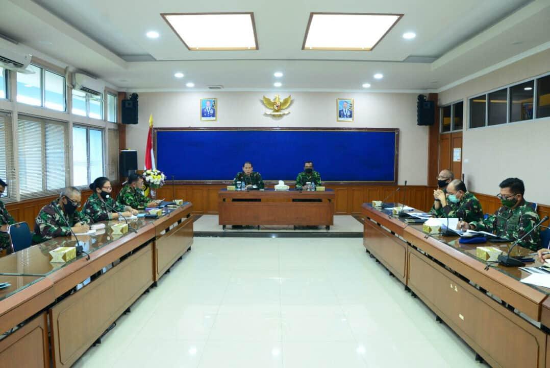 Dankodiklatau Pimpin Rapat Kesiapan 10 Komponen Pendidikan
