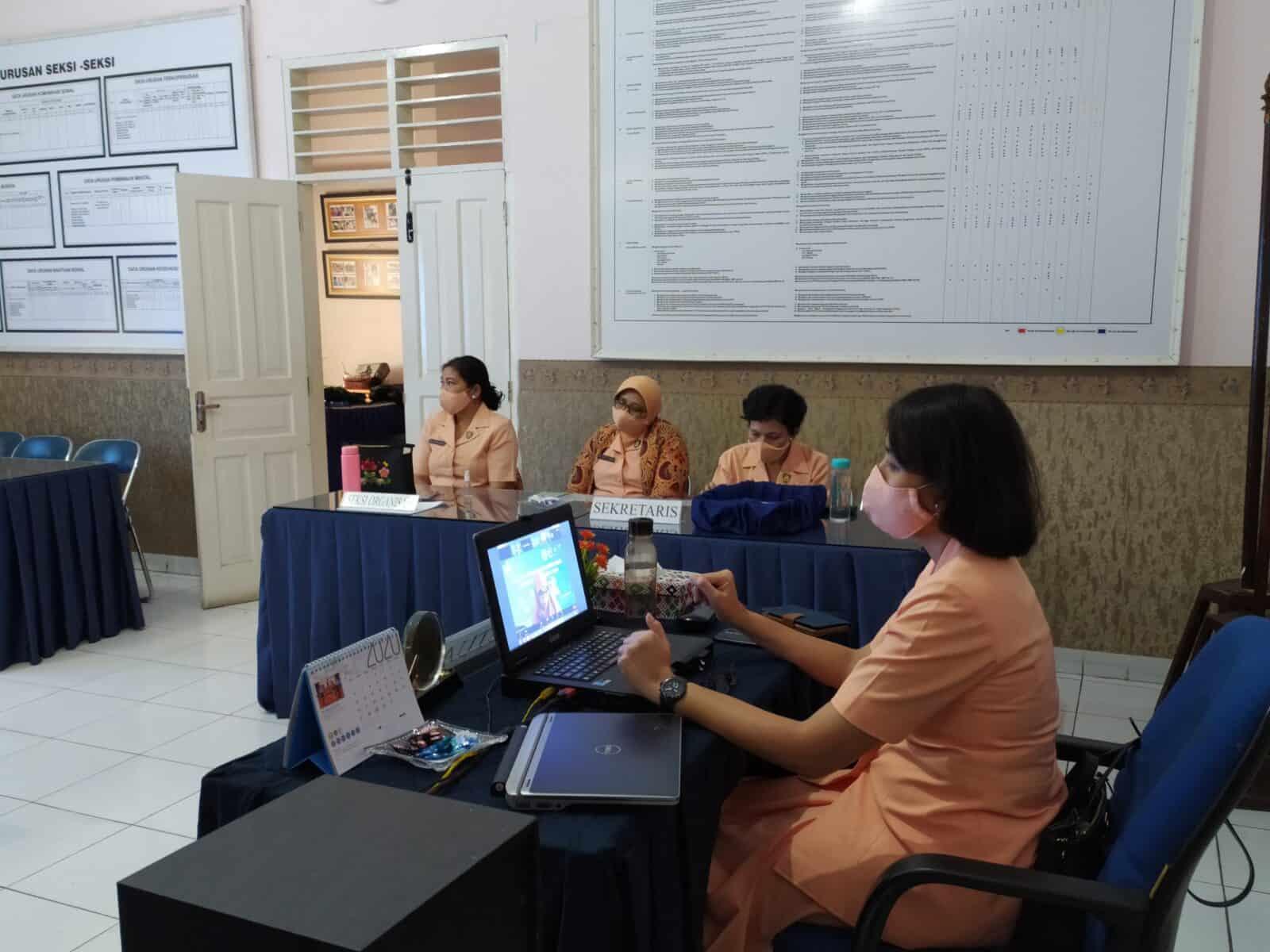 Yasarini Lanud Soewondo ikuti pelatihan daring pengembangan pembelajaran jarak jauh