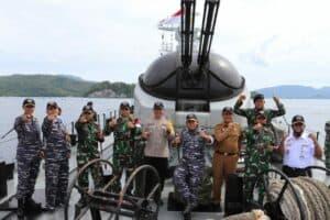Sinergitas TNI Polri dan Forkompinda Kota Sabang.
