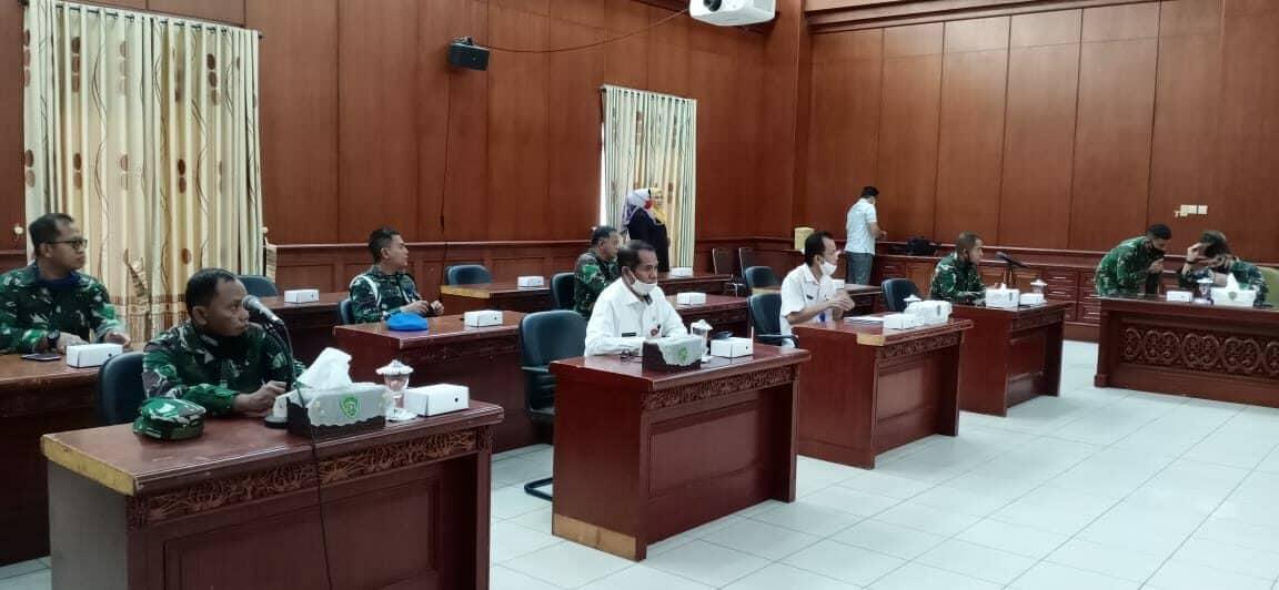 Tim Survey Mabes TNI AU Kunjungi Kantor Kabupaten Penajam Paser Utara
