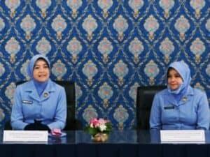 Kunjungan Ketua PIA AG Gab. II Kodiklatau Ke PIA AG Cabang 4/Gab. II Lanud Sulaiman