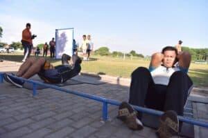 Jaga kesehatan fisik, Anggota Lanud Adisutjipto laksanakan Tes Samapta