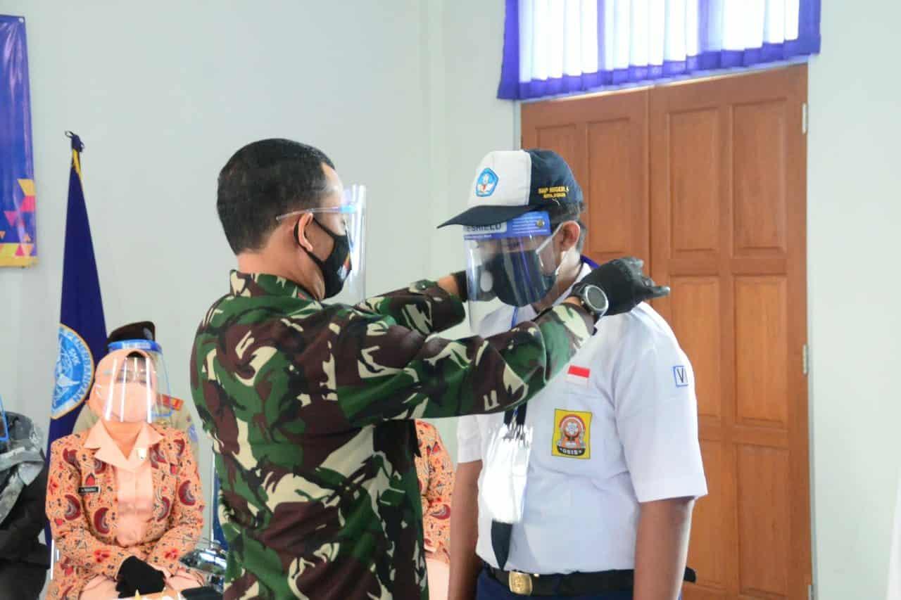 Danlanud Ats Buka MPLS SMK Penerbangan Angkasa