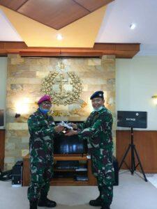 Komandan Lanud Sam Ratulangi Beserta Pejabat Lama Melaksanakan Courtest Call Kepada Beberapa Pejabat Tinggi di Sulawesi Utara
