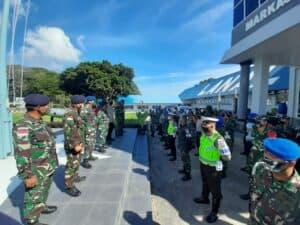 Pulau Terluar Ujung Barat NKRI Viralkan Gerakan Pencegahan Wabah COVID-19 Dengan Sinergitas TNI-POLRI Dan Pemkot Sabang.