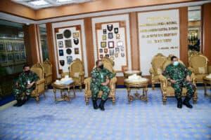 Bahas Pelangi Nusantara, Kasau Terima Kunjungan Bupati Ende