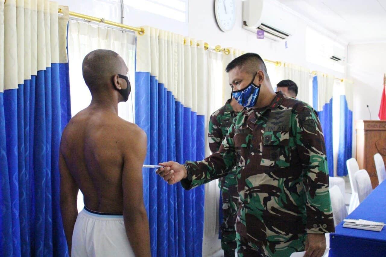 Komandan Lanud Silas Papare Pimpin Patukhirda Calon Taruna AAU