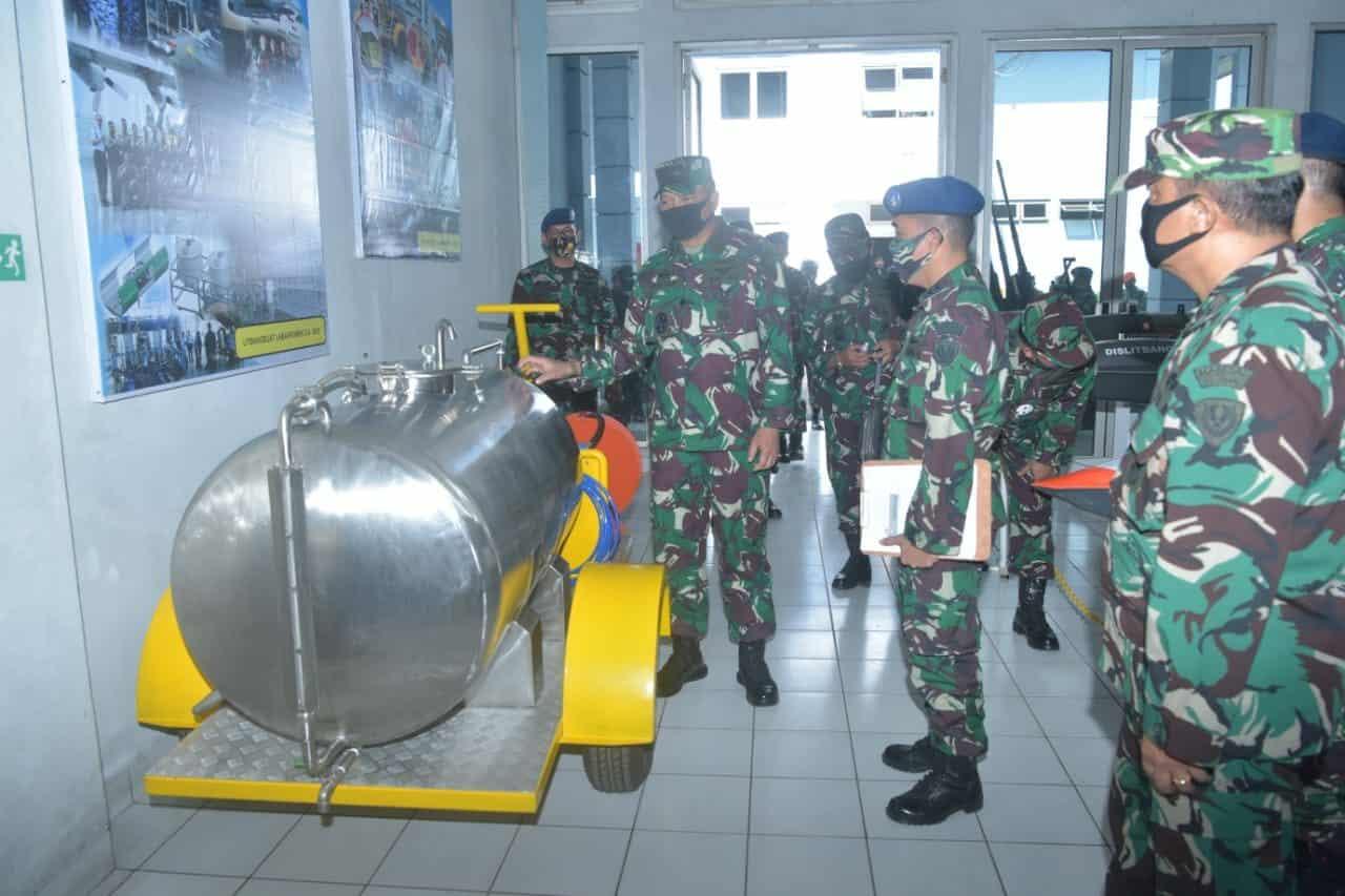 Kunker Kasau ke Bandung Kasau: Operational Readiness Alutsista Guna dukung Tugas TNI AU
