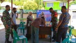 Babinsa Udara Lanud Maimun Saleh Sebagai Pengayom Masyarakat Menuju Kota Sabang Damai Dan Bersinergi.