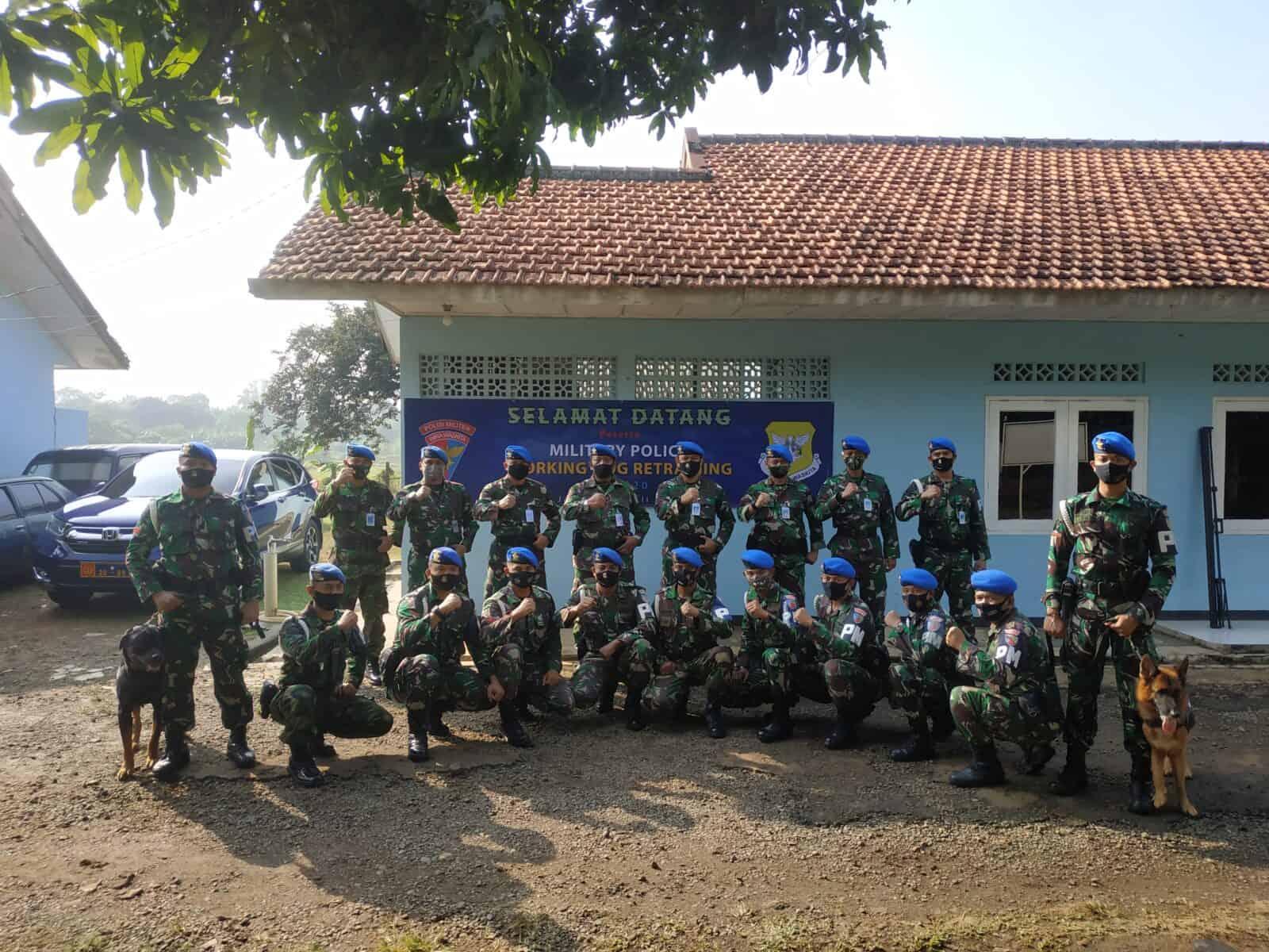 Military Police Working Dog Retraining Pomau TA 2020