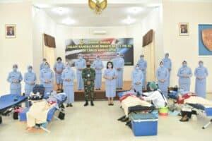 Peringati Hari Bakti TNI AU ke-73, Lanud Adisutjipto gelar donor darah