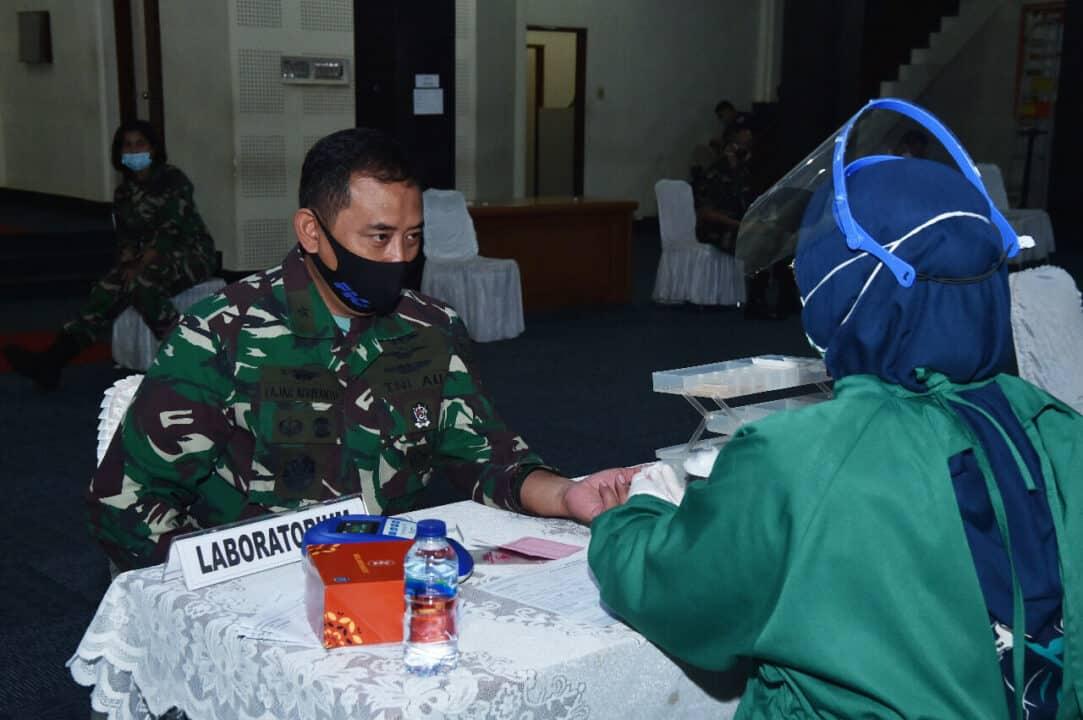 Jelang Hari Bakti TNI AU ke-73, Mabesau Sumbang 200 Kantong Darah