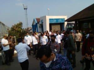 Kunjungan Tiga Menteri Kabinet Indonesia Maju di Provinsi Lampung