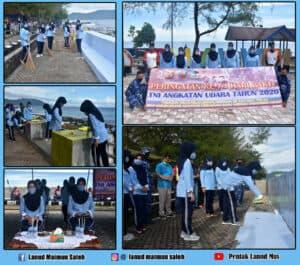 Terobosan Pia AG Cabang16/DaerahI Lanud Maimun Saleh Membuat Kota Sabang Menjadi Pulau Pelangi Melalui Kegiatan Karya Bakti.