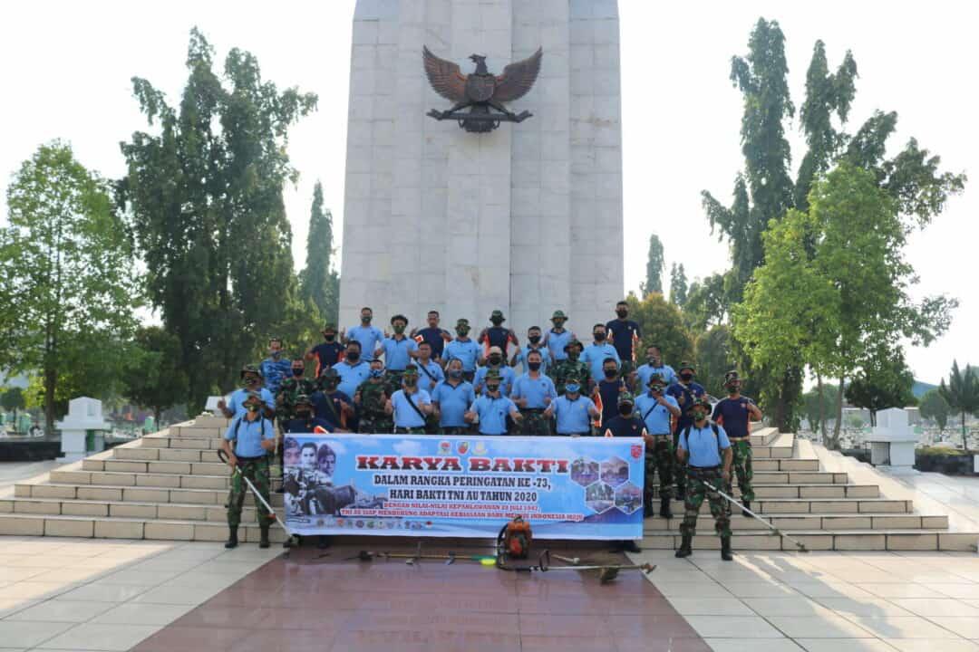Korve Massal Dalam Rangka Hari Bakti TNI Angkatan Udara ke-73 Tahun 2020