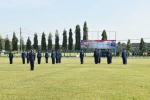 Upacara Memperingati Hari Bakti ke-73 TNI AUdi Lanud Pangeran M. Bun Yamin