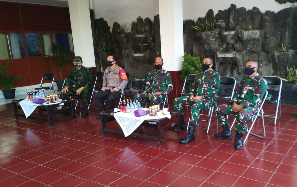 Pangkosekhanudnas I Sambut Panglima TNI dan Kapolri di Panen Raya Nusantara