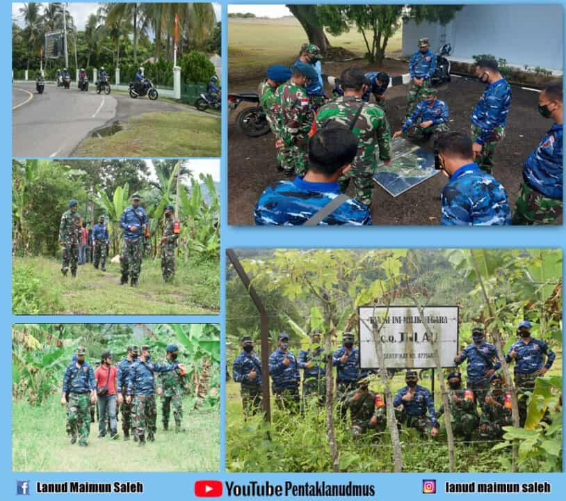 Tingkatkan Patroli Patok Aset TNI AU, Di Pulau Weh Indonesia.