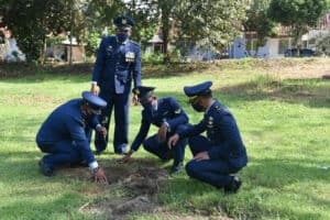 Penanaman Serentak Pohon Sukun di seluruh Lanud Jajaran Koopsau 1