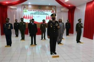 Komandan Lanud Sugiri Sukani hadiri HUT Bhayangkara ke-74