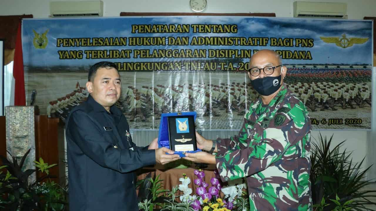 Penataran Penyelesaian Hukum Disiplin dan Pidana di TNI AU