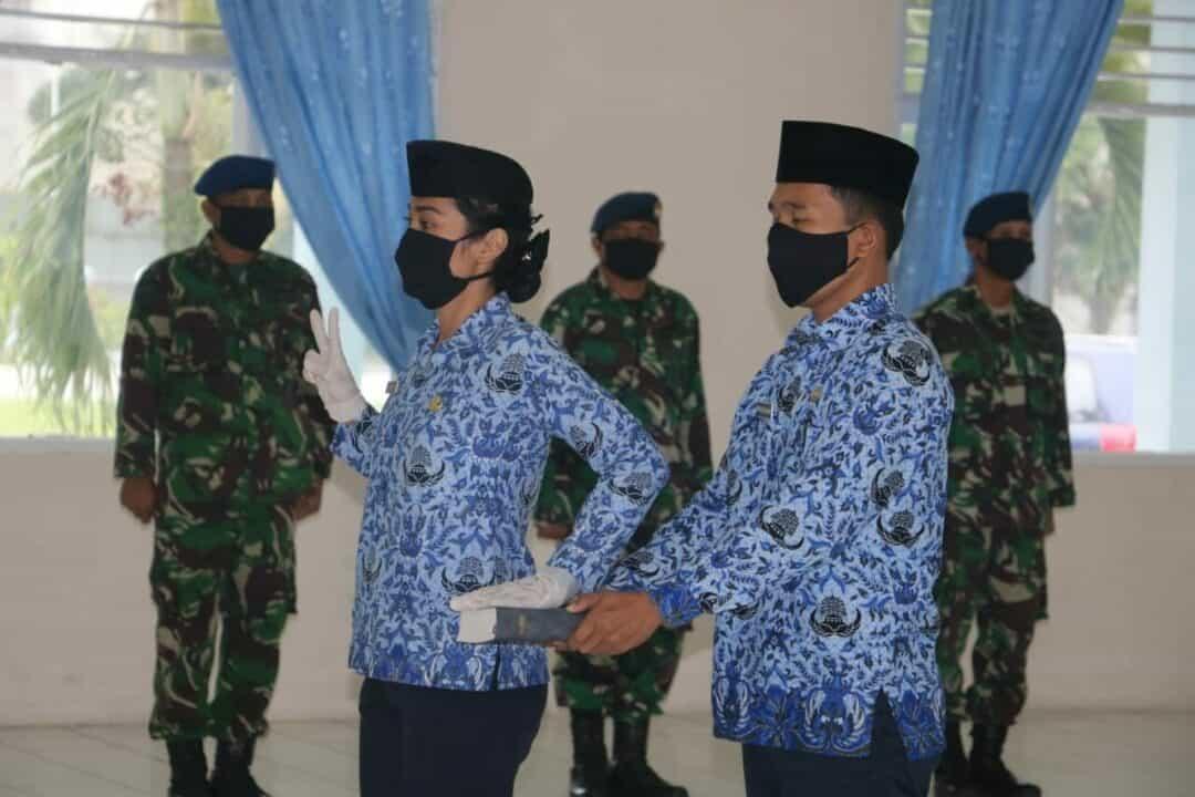 Upacara Pengambilan Sumpah/Janji PNS TNI AU Lanud Soewondo