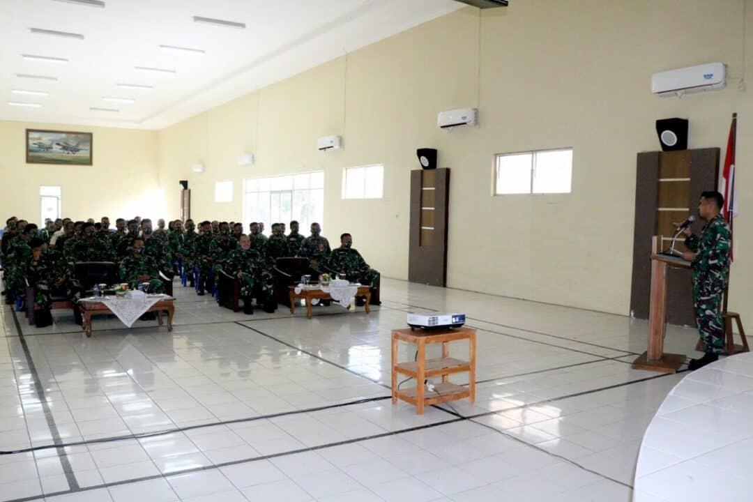 Sosialisasi Binkar Di Lanud Wiriadinata