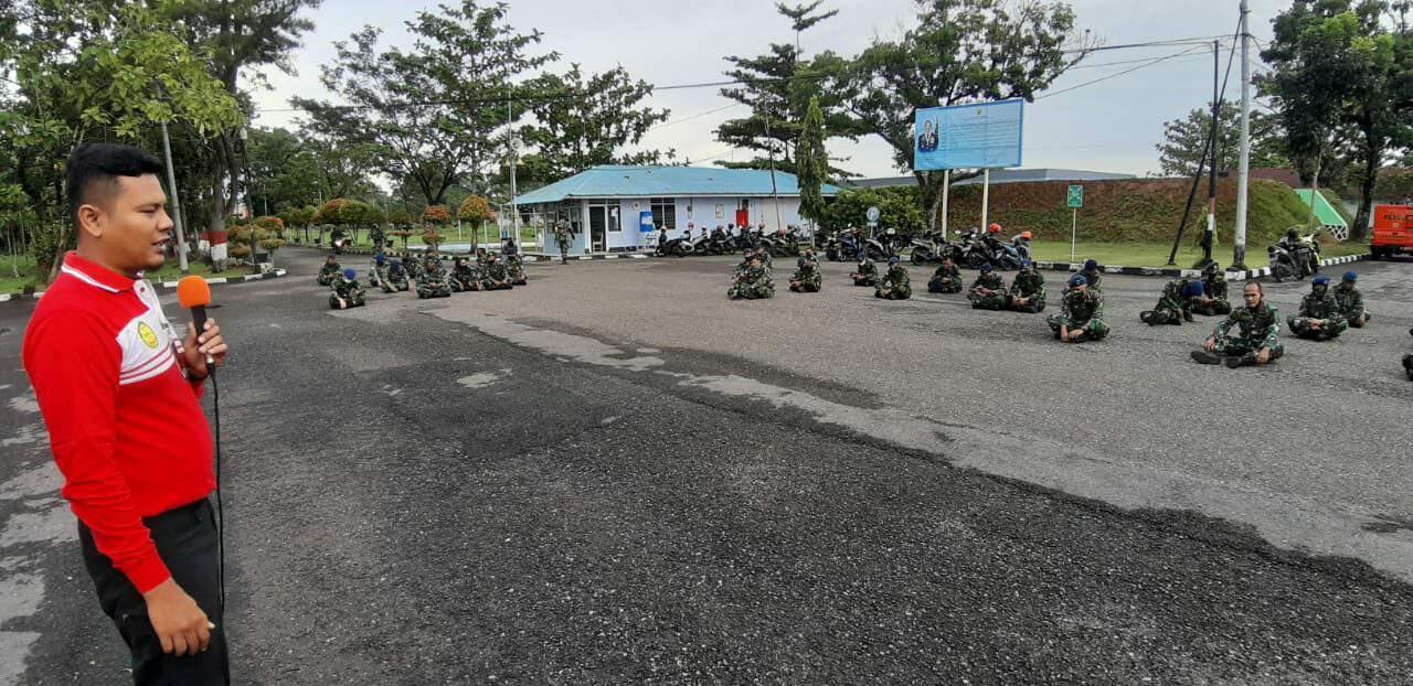 Prajurit Lanud Sutan Sjahrir Terima Materi Dari Basarnas Kota Padang