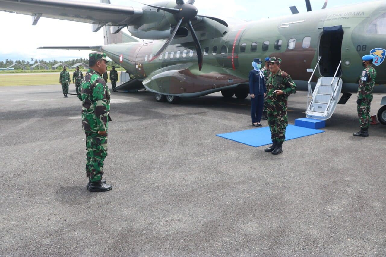 Pangkoopsau I Kunjungi Lanud Raden Sadjad