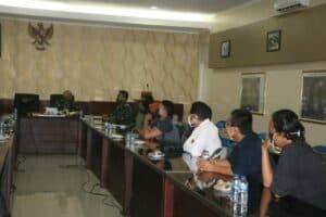 Danlanud Soewondo Jalin Silaturahmi bersama Awak Media